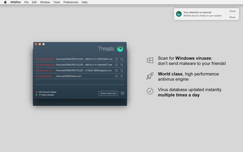Wildfire Antivirus Screenshot - 4