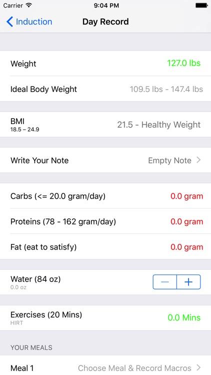 Atkins Diet Tracker - Low Carb Diet Program screenshot-4
