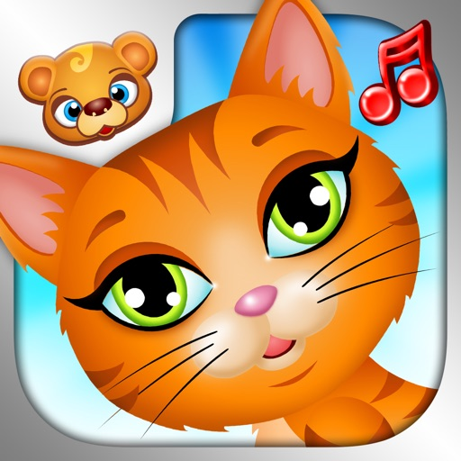 123 Kids Fun ANIMAL BAND Free Kids Top Music Games