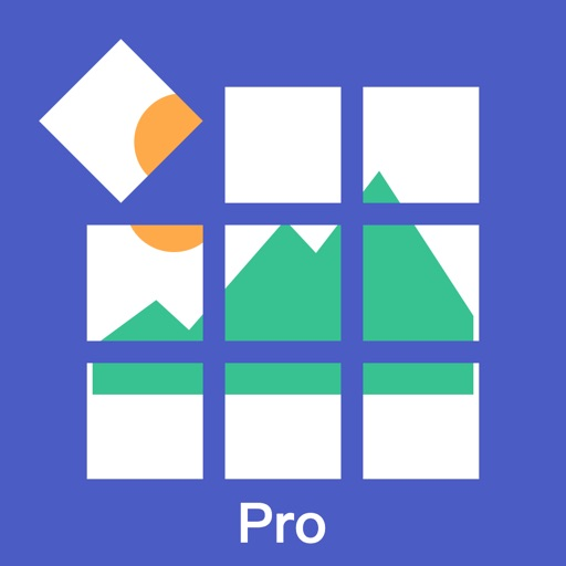Photo Cut Pro - Cut Giant Square to Equal Parts