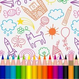 Colorami - Libro da colorare, animali e disegni