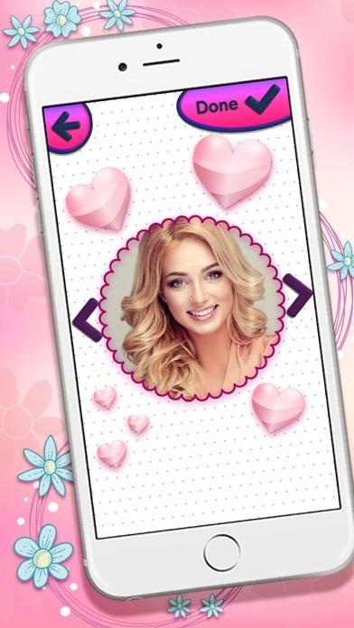 可愛い ピンク 写真 フレーム ために 女の子 - 画像 編集者紹介画像1
