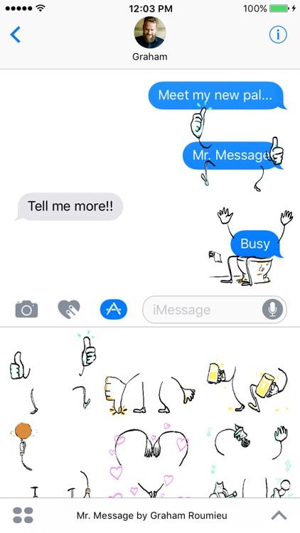 Mr. Message by Graham Roumieu