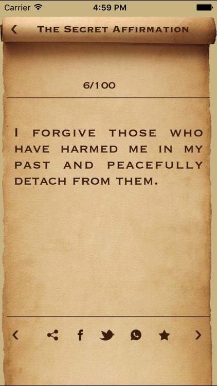 The Secret Affirmations to Money Letgo & Teachings screenshot-3