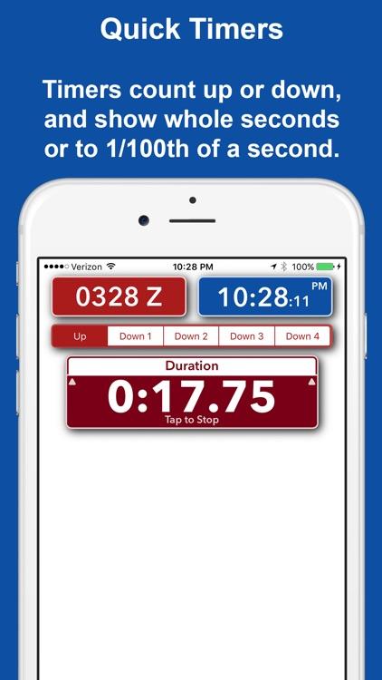 Timer Forit - Countdown Timers, Zulu & World Clock screenshot-4