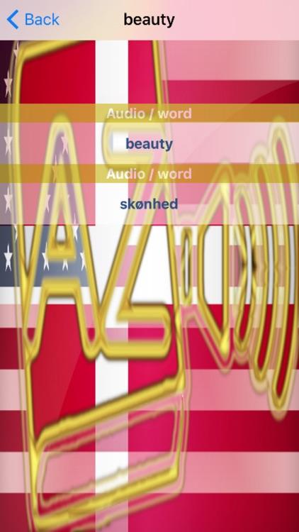 Danish Dictionary GoldEdition screenshot-4