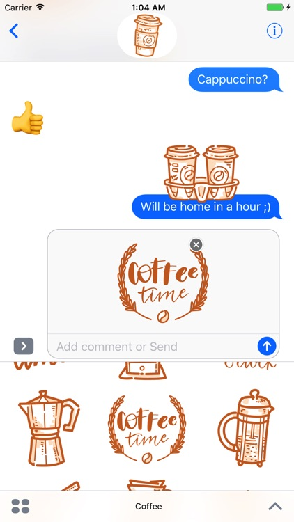 Coffee time! iMessage stickers screenshot-3