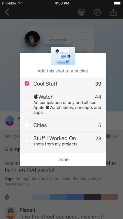 Dribbble screenshot-3