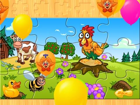 子供のための動物のパズル 農場 Animal Puzzleのおすすめ画像4