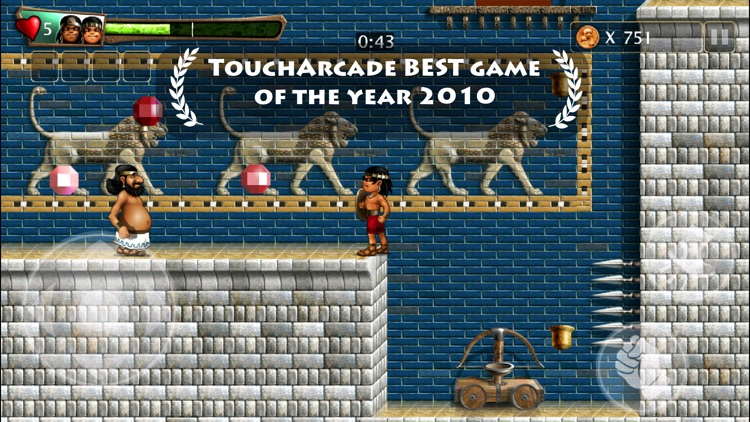 Babylonian Twins (Premium) Puzzle Platformer screenshot-0