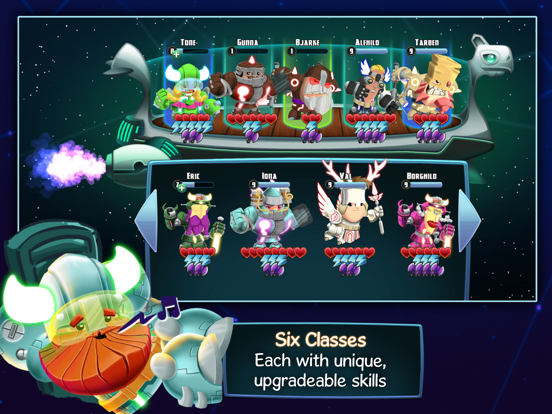 Star Vikings Forever - Screenshot 5