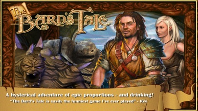 Screenshot for The Bard's Tale in Singapore App Store
