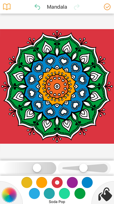 Mandala Coloring Pages 2017 screenshot four