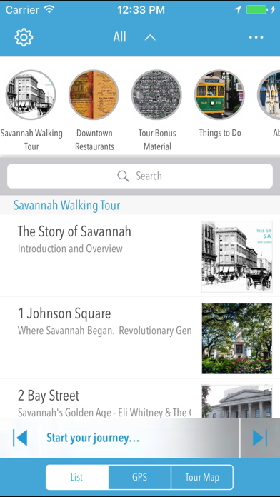 Savannah Walking Tour review screenshots