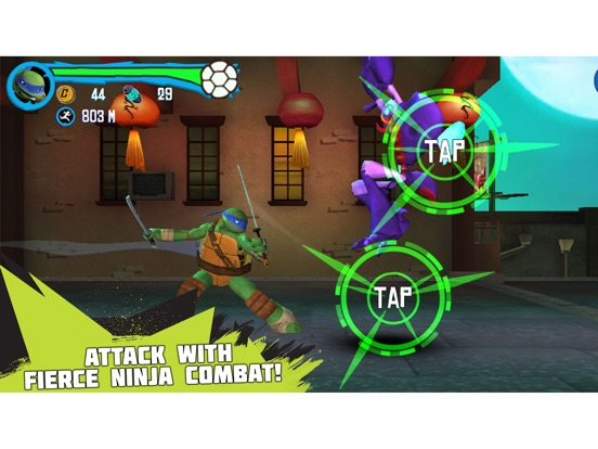 Teenage Mutant Ninja Turtles: Rooftop Run iPad