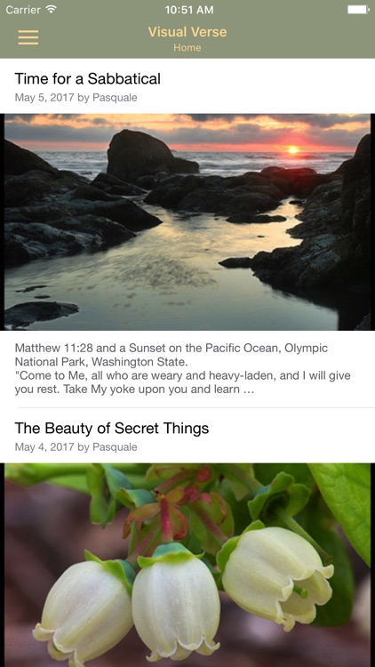 The Visual Verse of the Day by Wovax, LLC