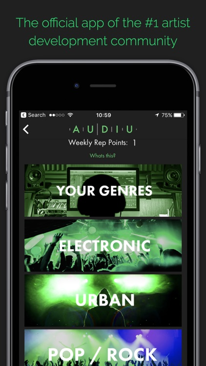 Audiu - Music Community