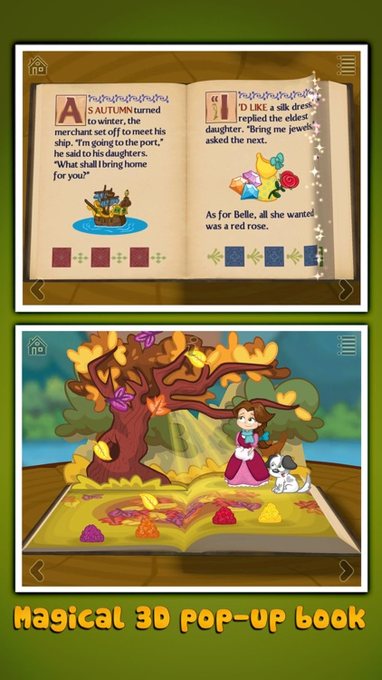Beauty and the Beast ~ 3D Interactive Pop-up Book