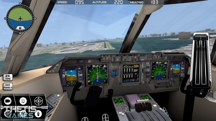 Flight Simulator FlyWings 2014 screenshot-1