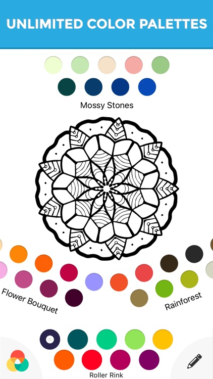 Enchanted Harmony Coloring Pictures screenshot-3