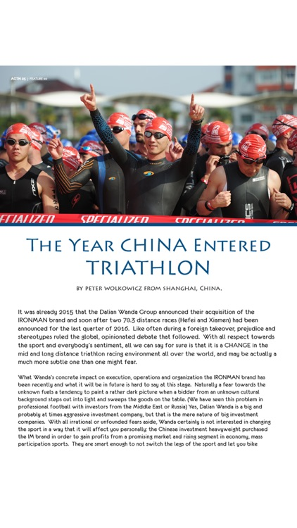 Age Group Triathlete Magazine screenshot-1