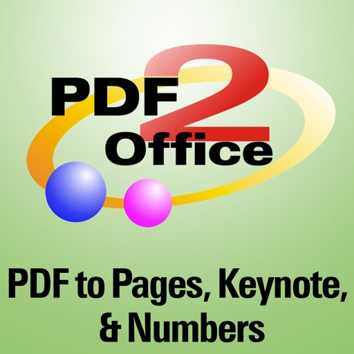PDF2Office OCR for iWork - Pages, Keynote, Numbers