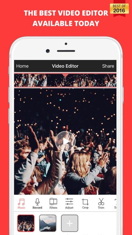 Video Editor- Movie Collage & Music Video Make.r screenshot-0