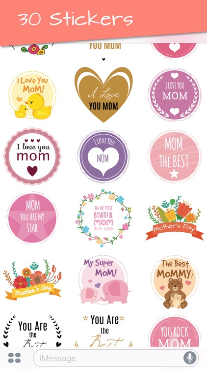 Mother's Day 2018 Stickers