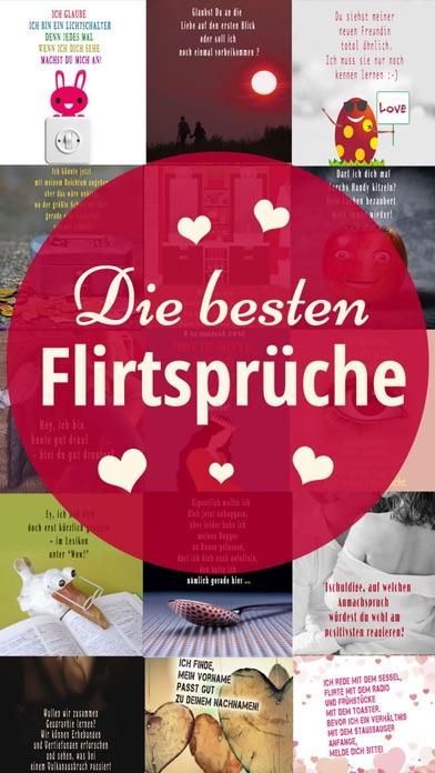 Flirtsprüche - Coole Sprüche: Flirten Spruchbilder screenshot 1