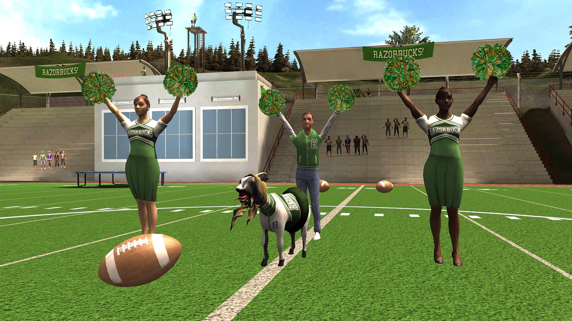 Screenshot do app Goat Simulator