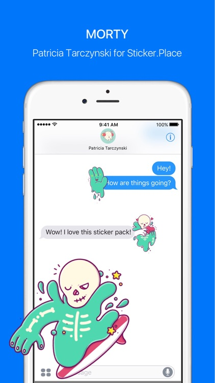 Morty – Stickers & Emoji