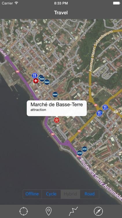 GUADELOUPE – GPS Travel Map Offline Navigator screenshot-3