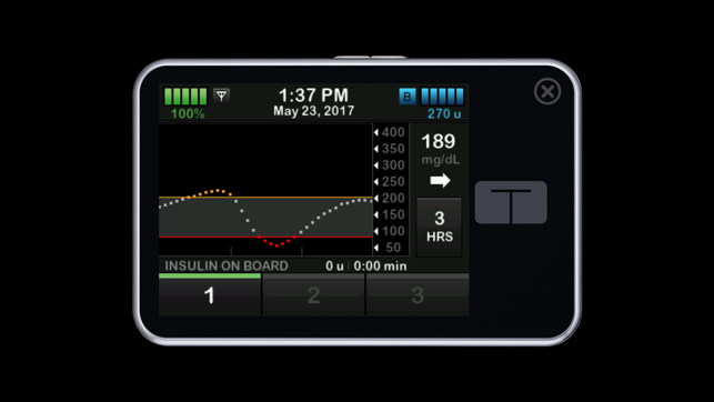 Insulin Pump Iphone App