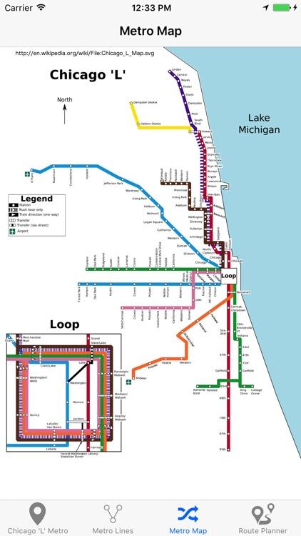 Chicago 'L' - Metro Map screenshot-4