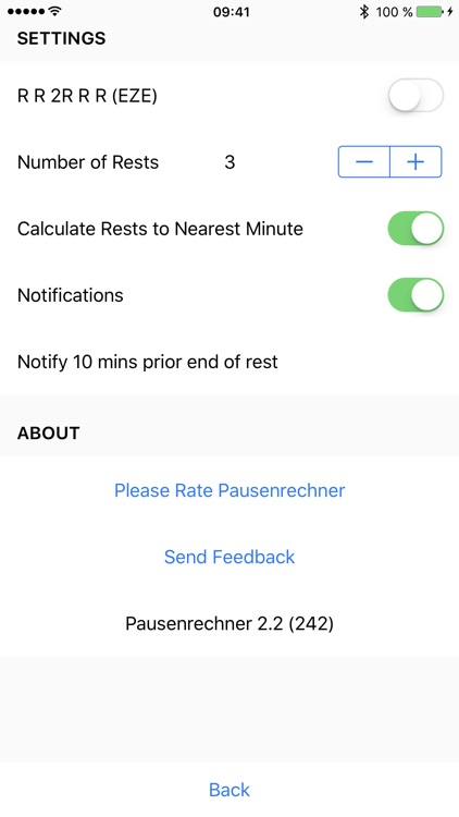 Pausenrechner - Cockpit Crew Rest Calculator
