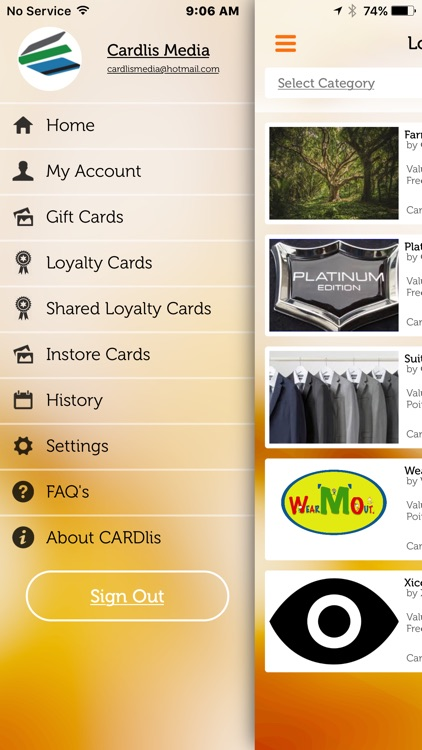 Cardlis - Gift and Loyalty Cards, Digital, Local
