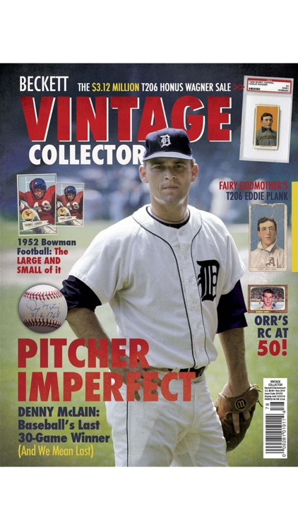 Vintage Collector - dedicated Publication for vintage trading cards and collectibles market