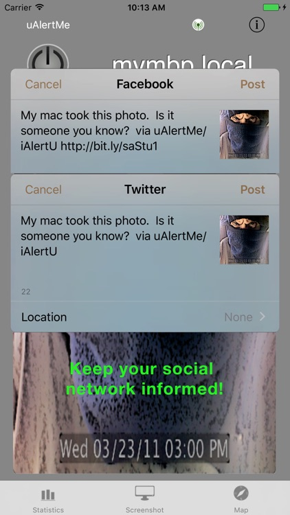uAlertMe for iAlertU screenshot-2