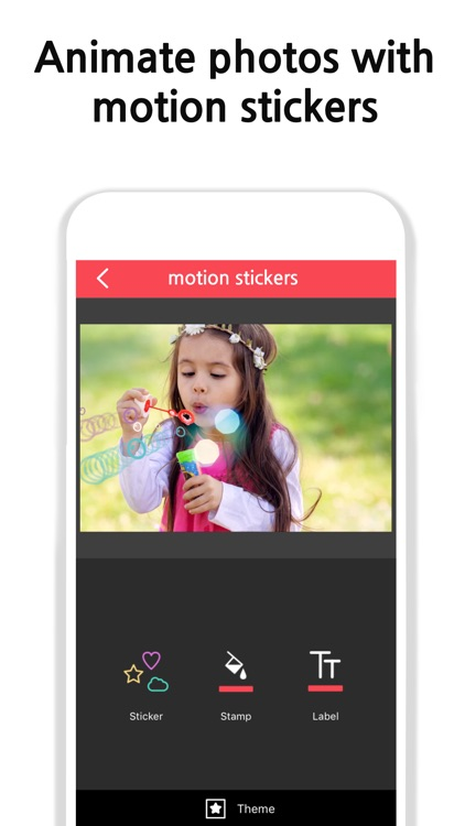 Vimo - Video editor + Motion Sticker and Text screenshot-0