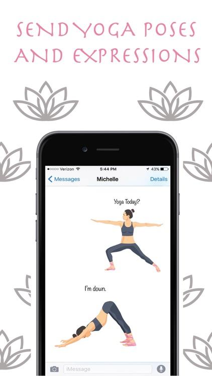 Zen Mojis - Yoga Emoji Keyboard and Stickers
