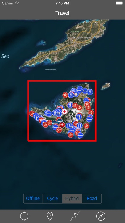 SAINT MARTIN – GPS Travel Map Offline Navigator
