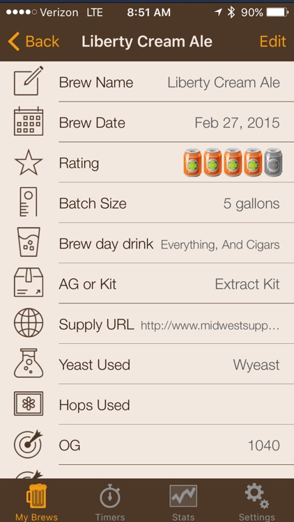 My Brew screenshot-1