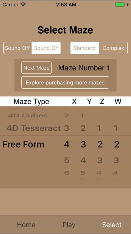 Maze HyperCube Lite screenshot-4