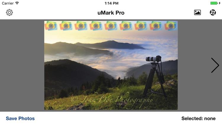 uMark Photo Watermarker Pro screenshot-3