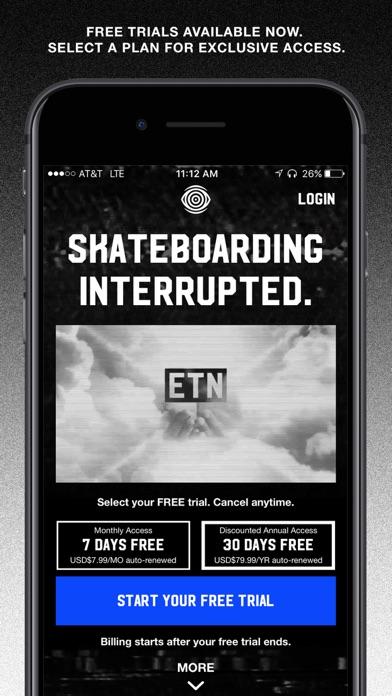 ETN: live skateboarding shows Screenshot