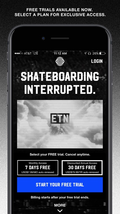 ETN: live skateboarding shows Screenshot
