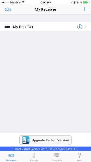 DirectVR Lite Remote for DirecTV on the App Store