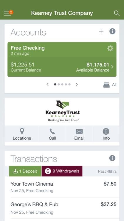 Kearney Trust Company