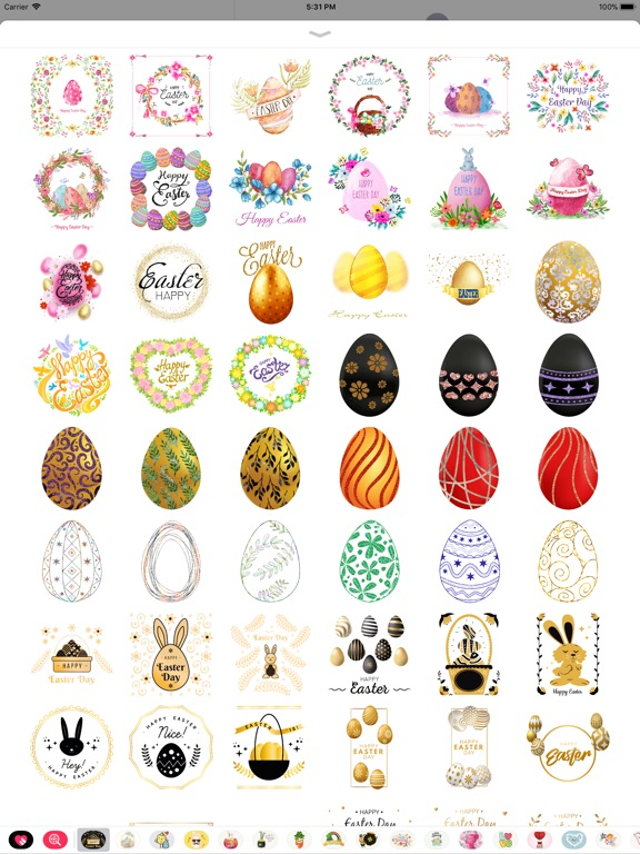 Glittering & Gold Easter Day screenshot 7
