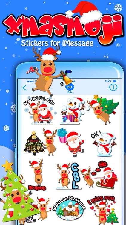 Xmasmoji Stickers for iMessage
